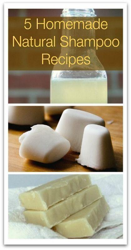 5 Homemade Natural Shampoo Recipes