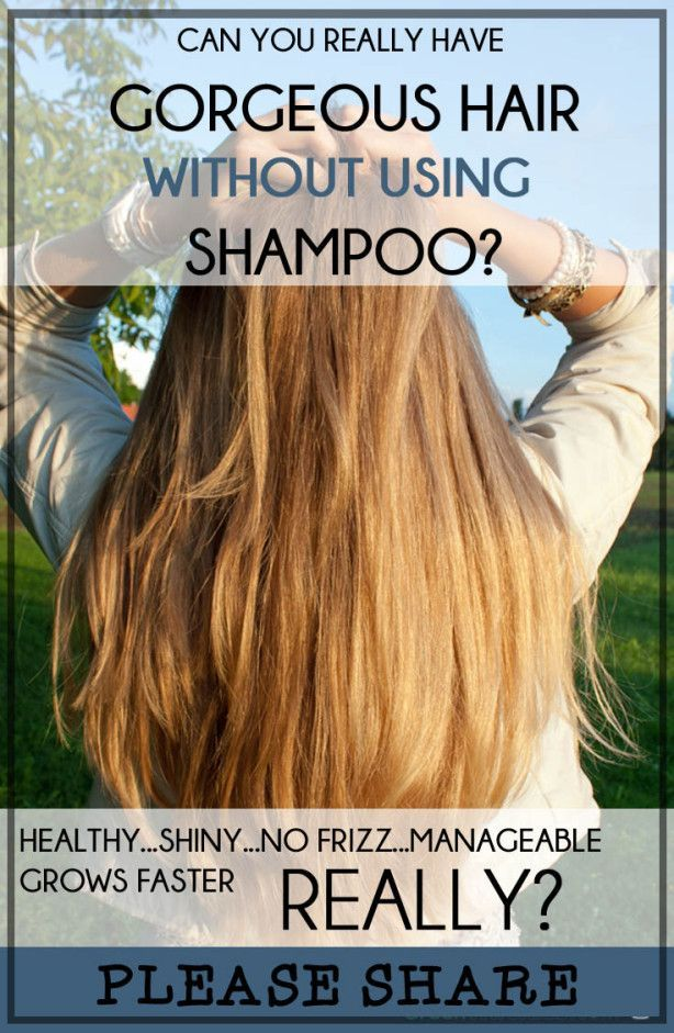 Can You Really Have Gorgeous Healthy Hair Without Using Shampoo?  Baking soda & ...