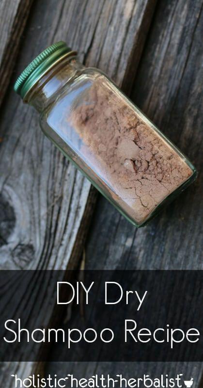 DIY Dry Shampoo Recipe - Learn how make an effective dry shampoo that sucks up o...