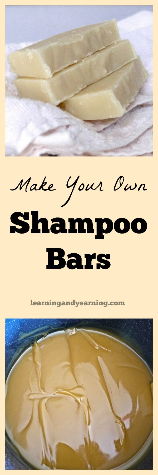 If you can make homemade soap, then you can make shampoo bars. They are rich and...