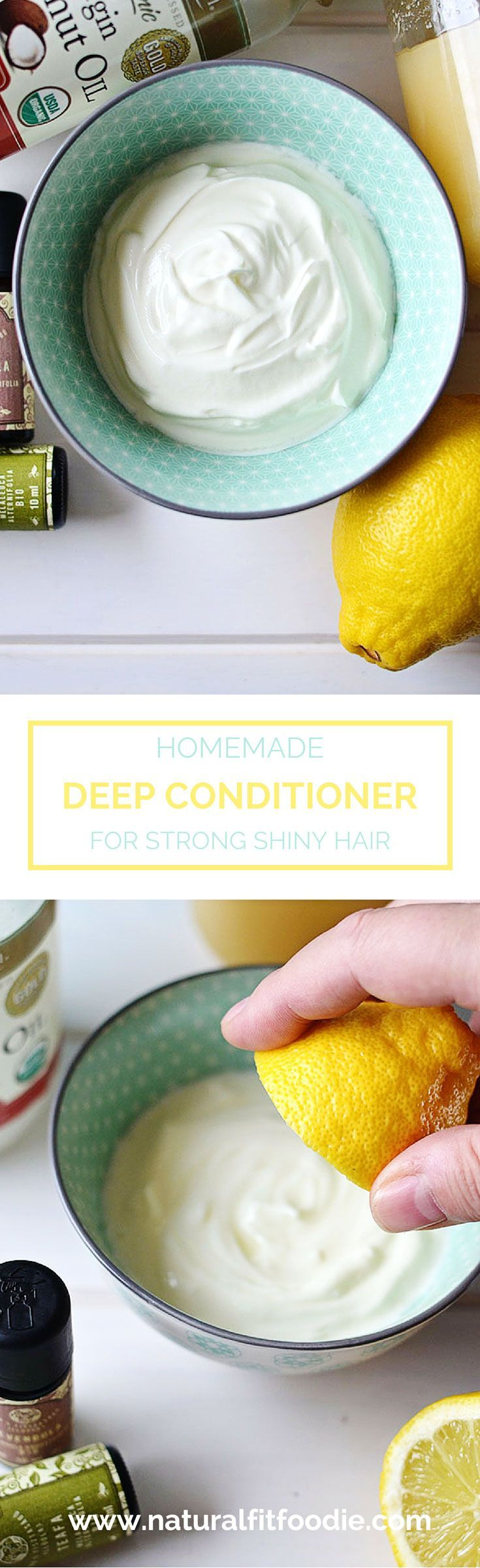 This Homemade Deep Conditioner is full of nourishing ingredients to revive your ...