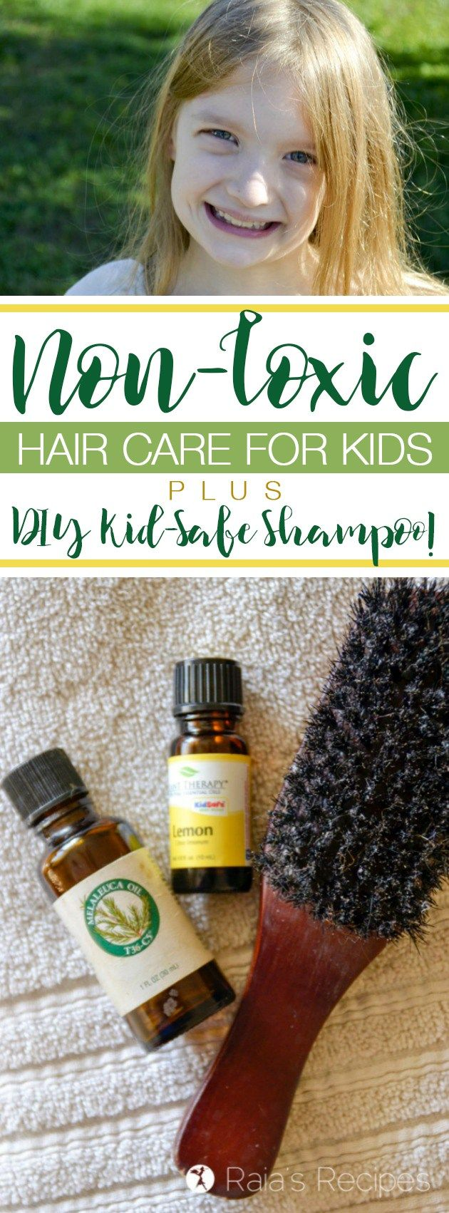 Want to keep your kids scalp and skin safe from unnecessary toxins? Here's w...