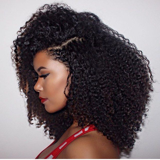 when your wash & go gone right. @ahfro_baang