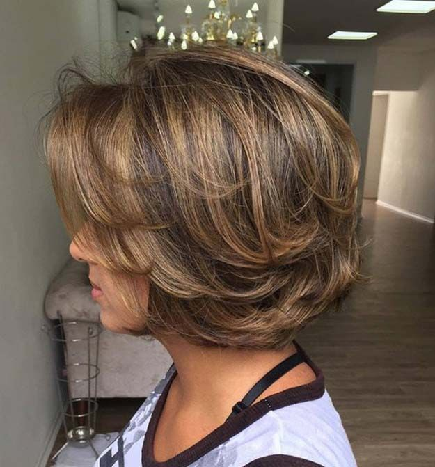 Balayage Ideas for Short Hair - Chic Textured Short Hairstyle - Tips, Tricks, An...