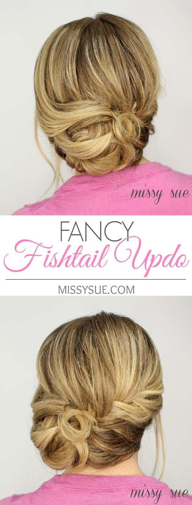 Best Hairstyles For Your 30s -Fancy Fishtail Updo- Hair Dos And Don'ts For You...