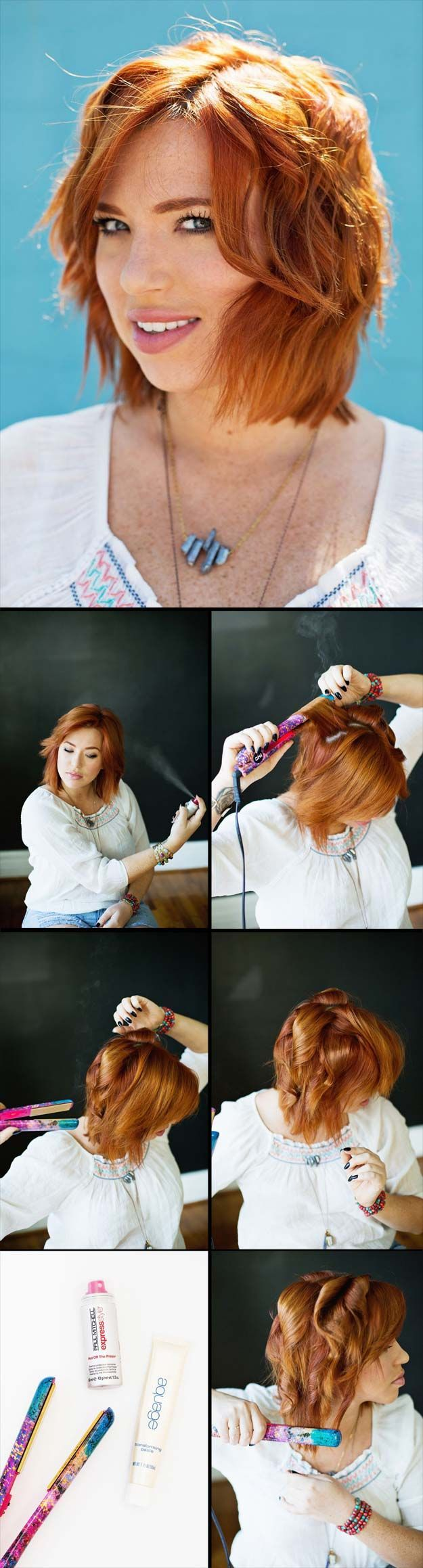 Best Hairstyles For Your 30s -How to Create Beachy Waves- Hair Dos And Don'ts ...