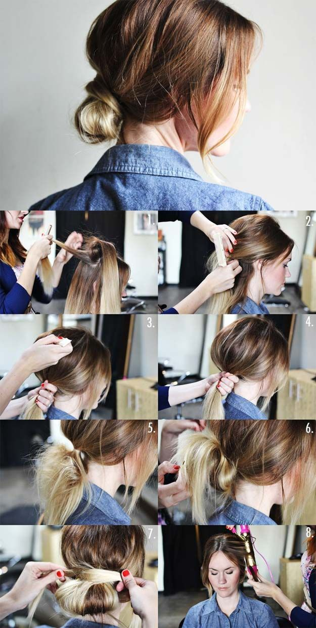 Best Hairstyles For Your 30s -How to Style a Low Bun- Hair Dos And Don'ts For ...