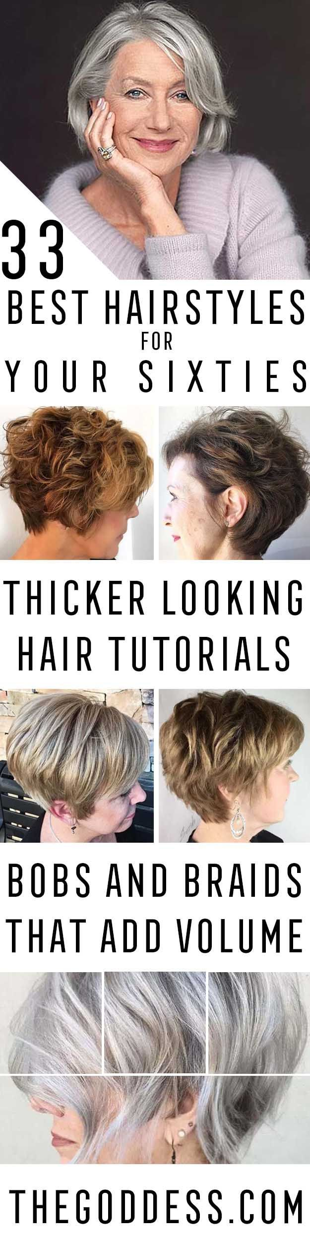 Best Hairstyles For Your 60s - Best Haircuts For Women In Their 60s With Short O...