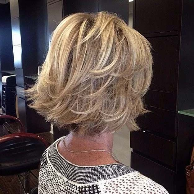 Best Hairstyles For Your 60s - Bouncy Bob - Best Haircuts For Women In Their 60s...