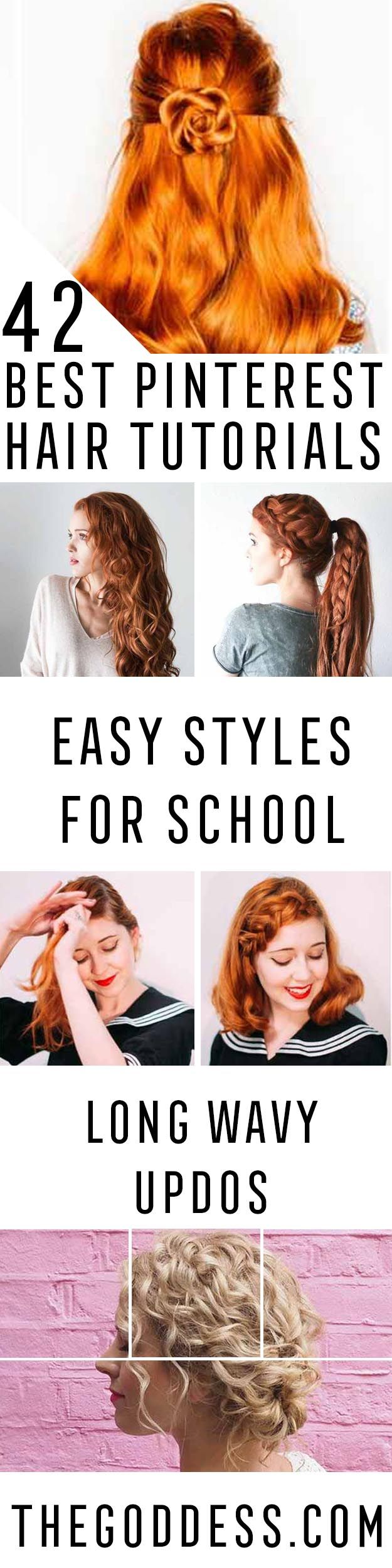 Best Pinterest Hair Tutorials - Check Out These Super Cute And Super Simple Hair...