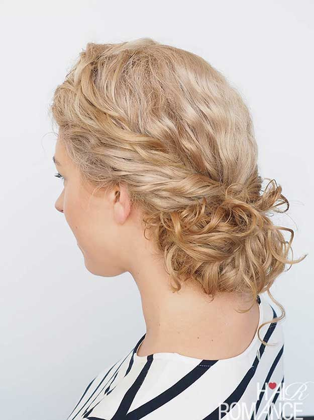 Best Summer Hairstyles - Easy Curly Hairstyle Tutorial - Curly Twist - Easy And ...