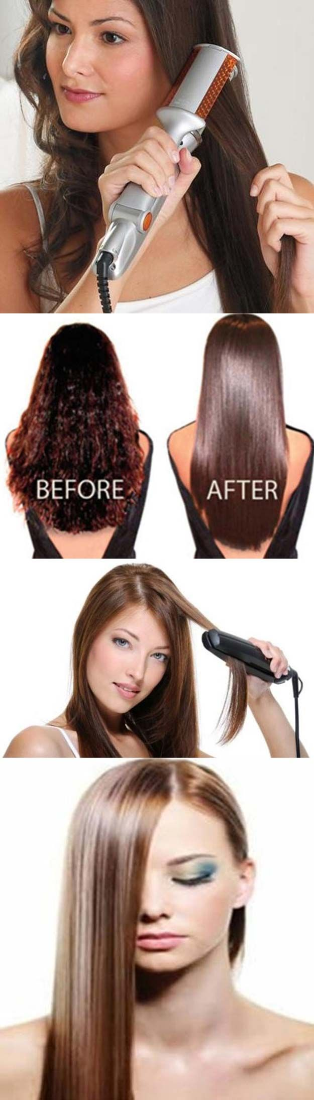 Hair Straightening Tutorials -How to Straighten Hair - A Tutorial -Looking For T...