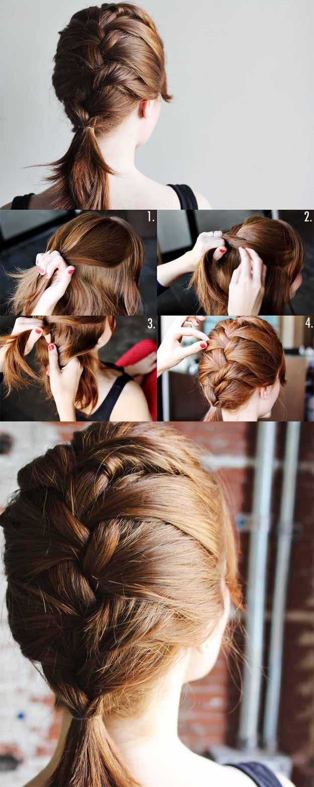 easy hair style for and easy hairstyles for school 8455