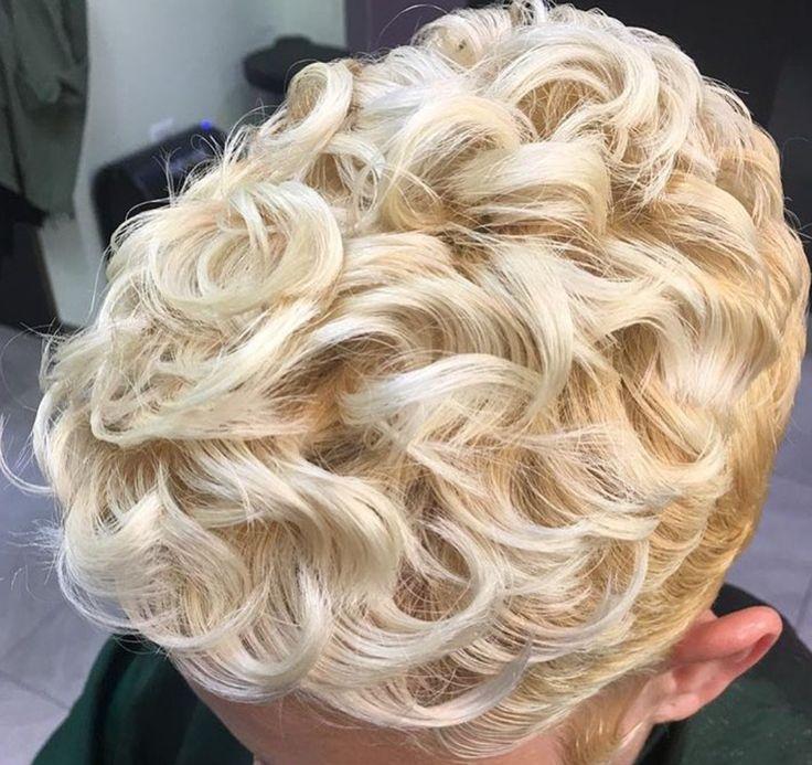 Beautiful golden blonde curls @itoccara - blackhairinformat...