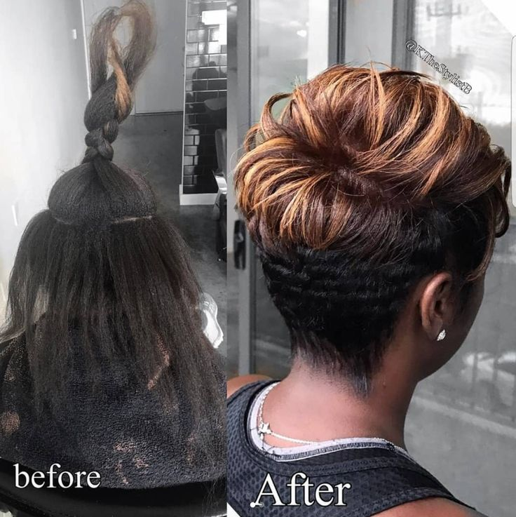 Beautiful transformation by @kthestylistb - blackhairinformat...