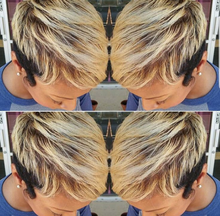 Cute cut and color by @beautybyqui_ - blackhairinformat...