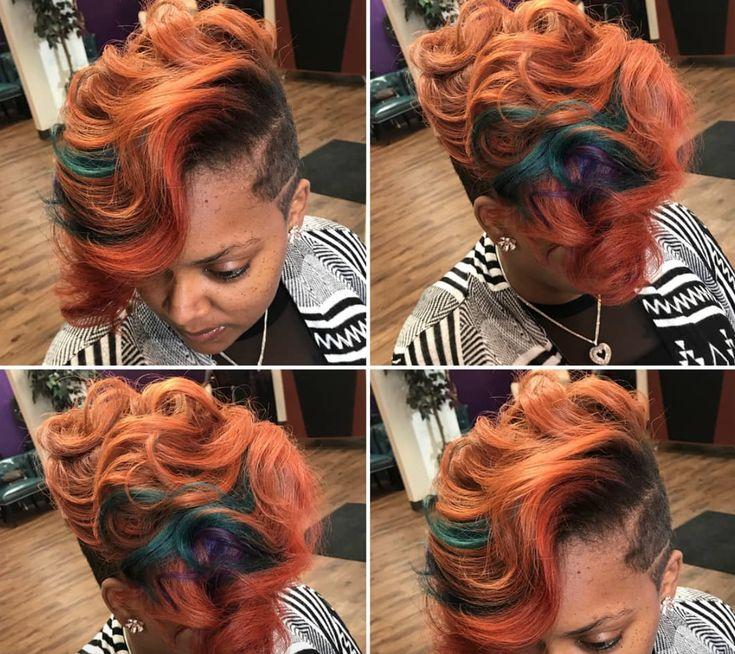 Dope color combo by @bdavishaircare - blackhairinformat...