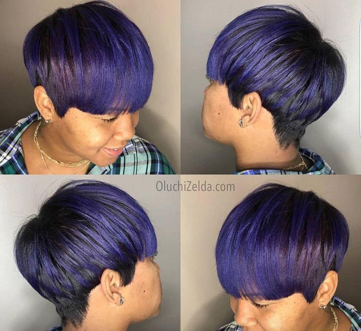 Dope purple by Oluchi Opara - blackhairinformat...