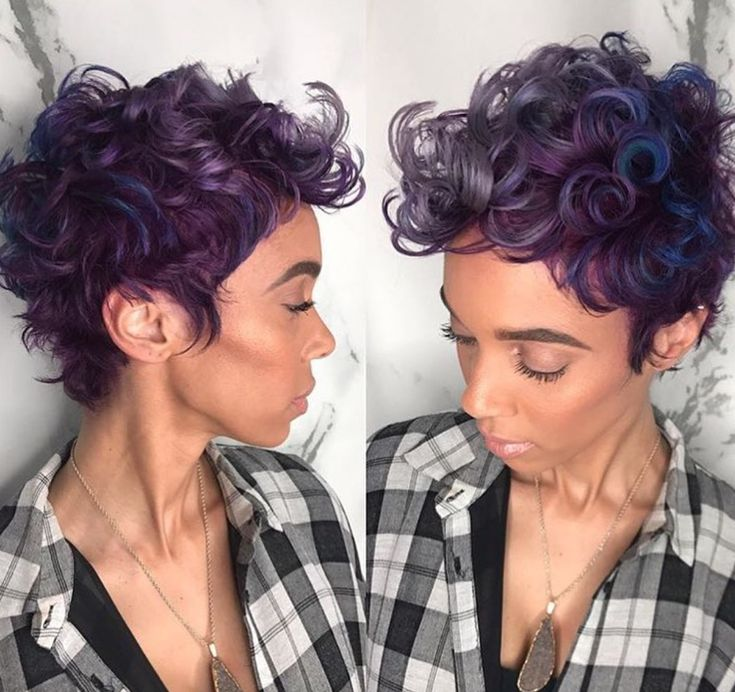 Gorgeous color combo by @salonchristol - blackhairinformat...