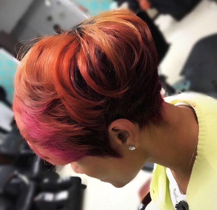 Gorgeous cut and color via @cutz_up - blackhairinformat...