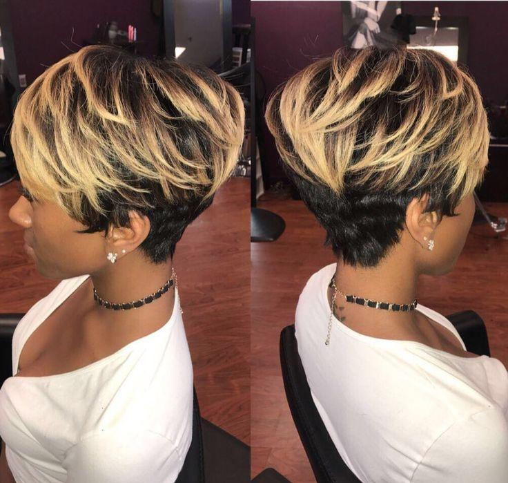 Gorgeous cut by Kisha Jefferson - blackhairinformat...