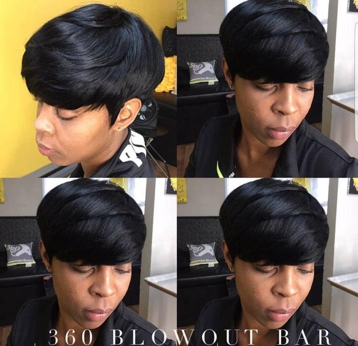 Gorgeous! via chicago's @360blowoutbar - blackhairinformat...