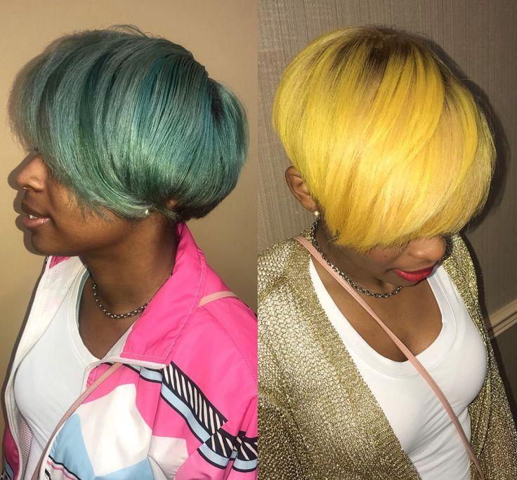 Love this color switch by Kisha Jefferson - blackhairinformat...