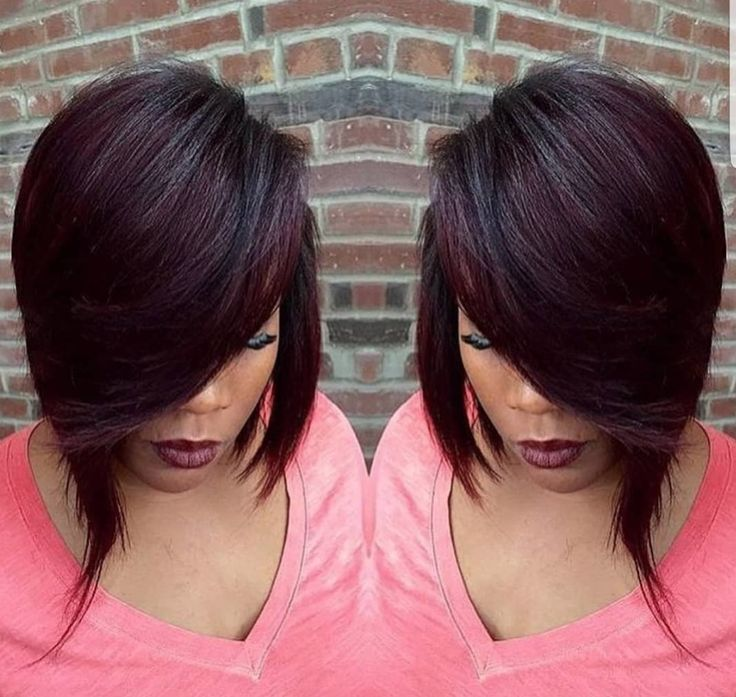 Love this cut by @styles_4_usalon - blackhairinformat...