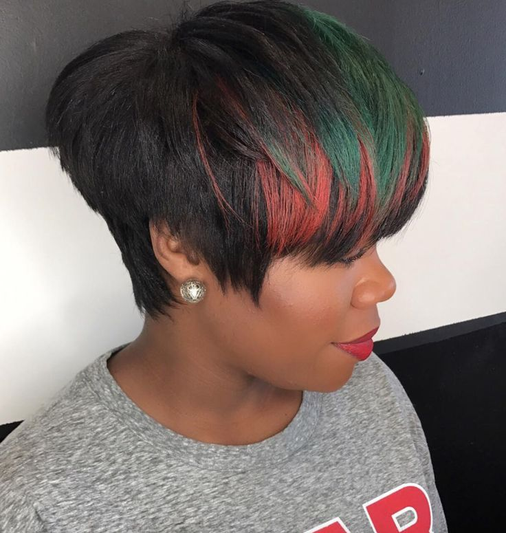 Loving this pop of color Ppdxmqjvb Clmtv - blackhairinformat...