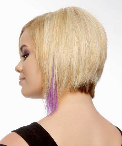 11.Short Hair Color