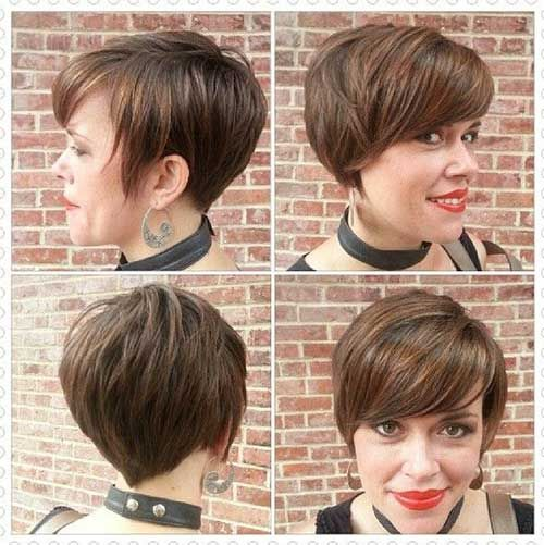 13. Layered Pixie Cut