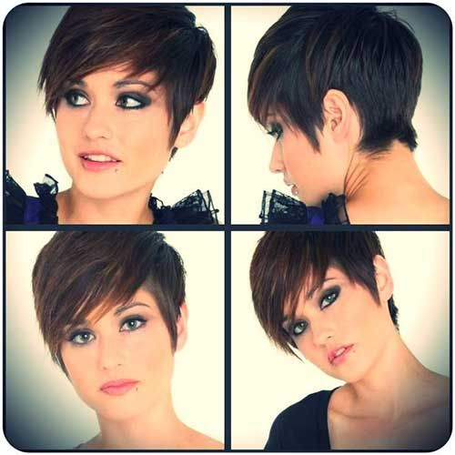 14. Layered Pixie Cut