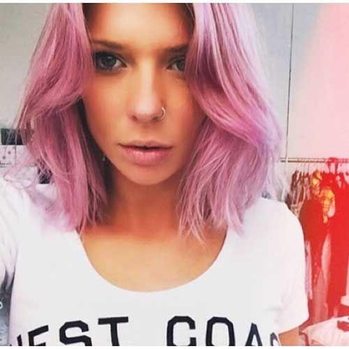 15-Pink Short Hair
