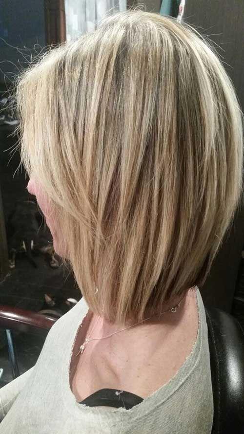 7.Short Blonde Hairstyle