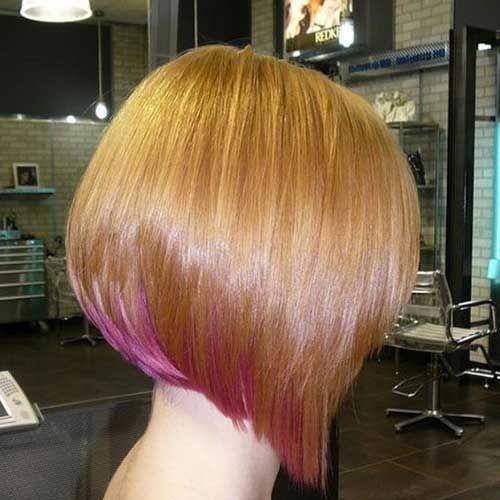 7.Short Hair Color