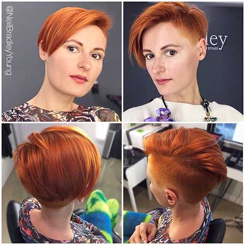 9-Short Red Hair