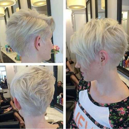 Awesome Very Fashionable Pixie Cuts for Ladies