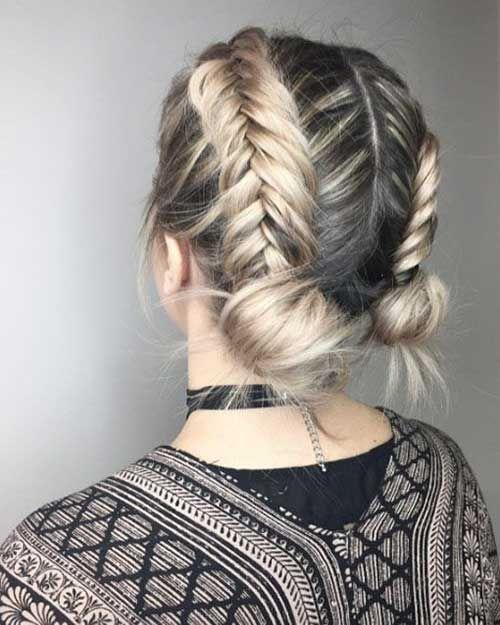 Braid Style for Short Hair