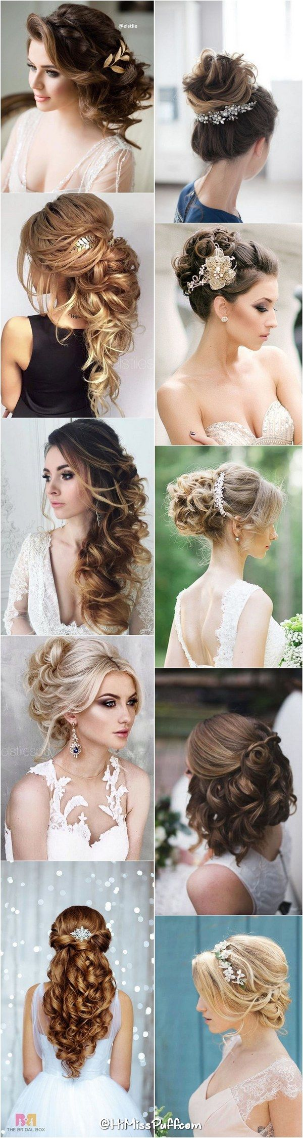 200 Bridal Wedding Hairstyles for Long Hair That Will Inspire / www.himisspuff.c...