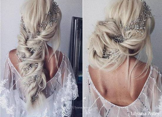 38 Ulyana Aster Bridal Wedding Hairstyles for Long Hair – Hi Miss Puff