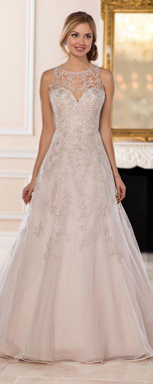 Stella York Wedding Dresses / www.deerpearlflow... ❤️ #lacedress #weddingdre...