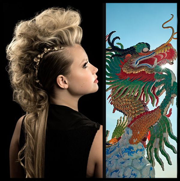 This collection of artistic and creative hairstyles is sure to provide a lot of ...