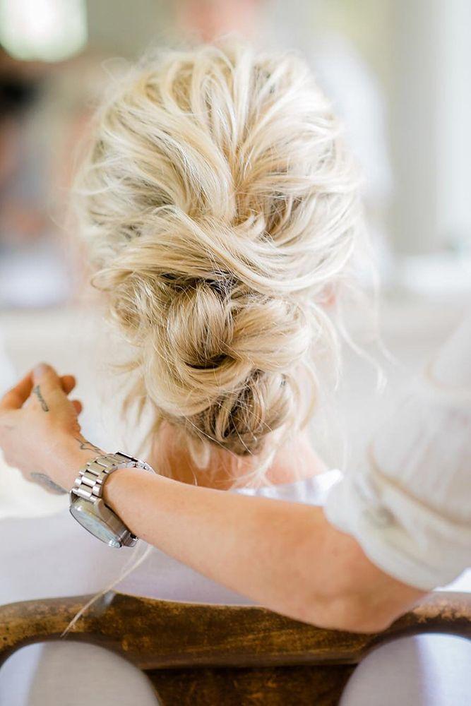 30 Top Wedding Updos For Medium Hair ❤ See more: www.weddingforwar... #wedding...