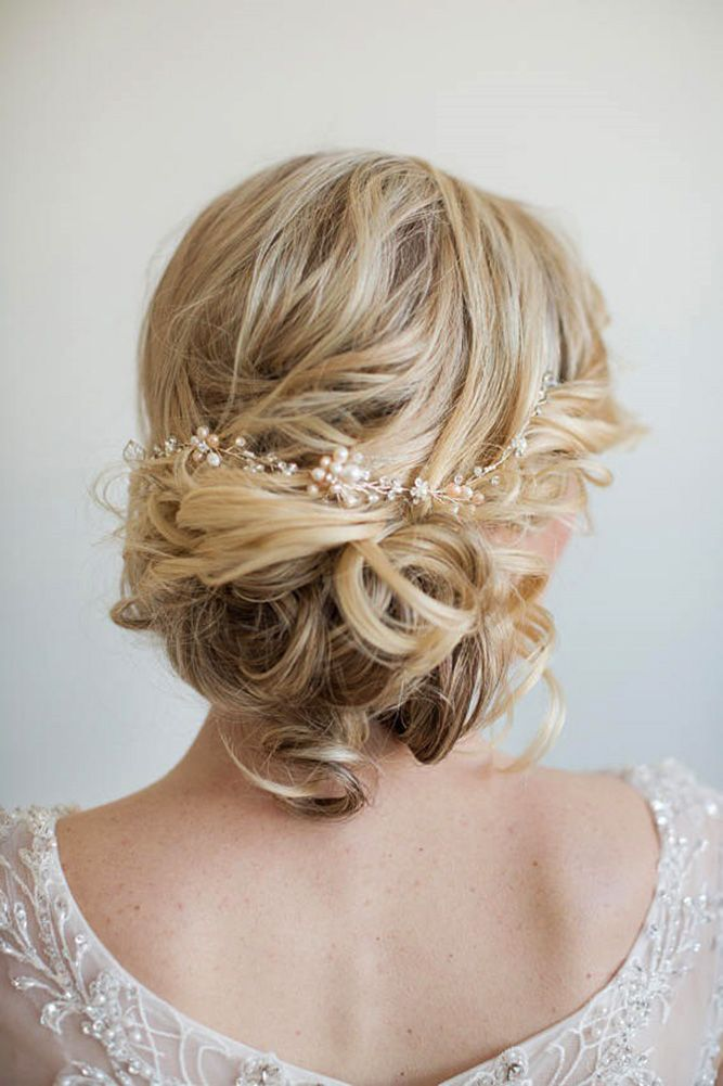 30 Elegant Wedding Hairstyles For Stylish Brides ❤ elegant wedding hairstyles ...