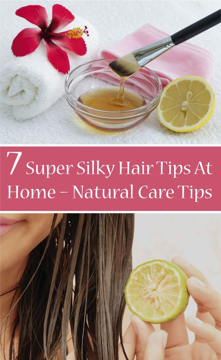 There are some silky hair tips that a person can follow to get a  beautiful smoo...