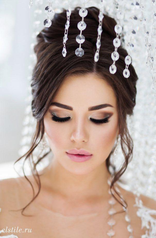 Featured Updo Wedding Hairstyle: Elstile; www.elstile.ru