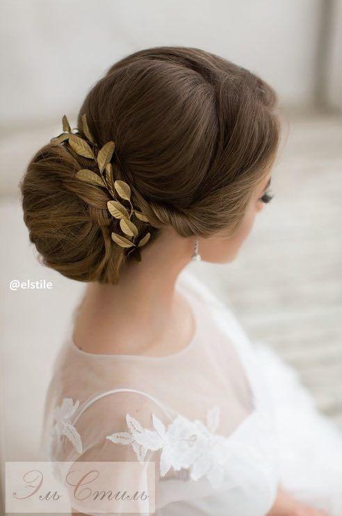 Featured Wedding Hairstyle: Elstile; www.elstile.ru