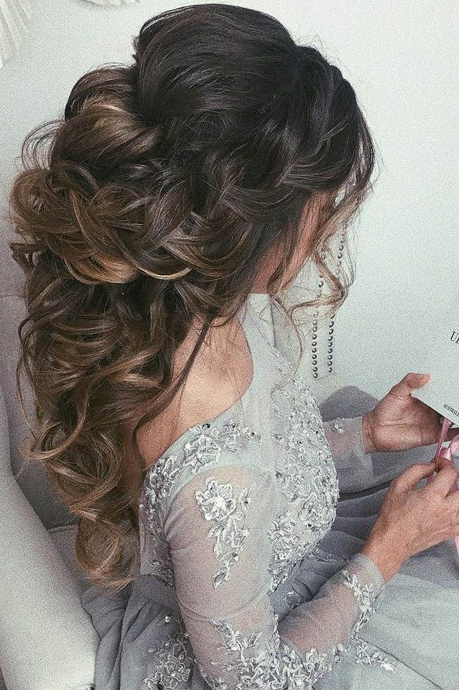 36 Wedding Hairstyles For Long Hair From Ulyana Aster ❤ wedding hairstyle from...