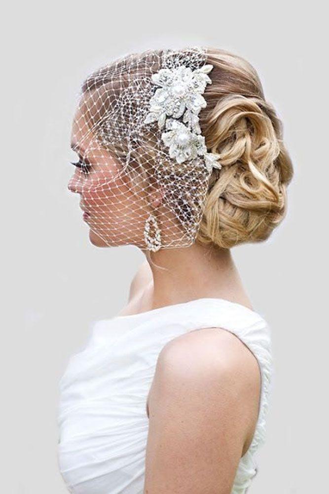 30 Pinterest Wedding Hairstyles For Your Unforgettable Wedding ❤ pinterest wed...