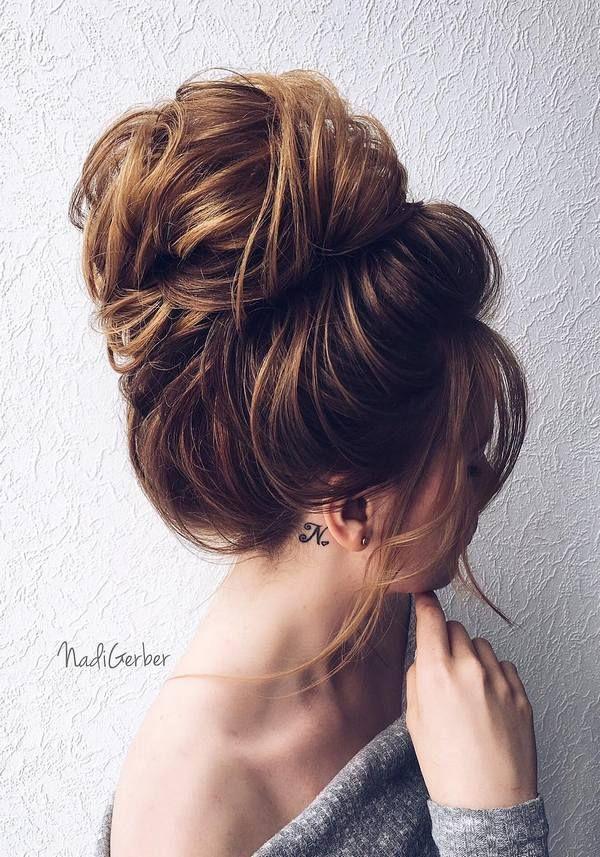 Nadi Gerber Wedding Updo Hairstyles / www.deerpearlflow...